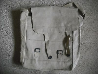 A Unissued British Army Ww2  Canvas Large Back Pack Bag  1953