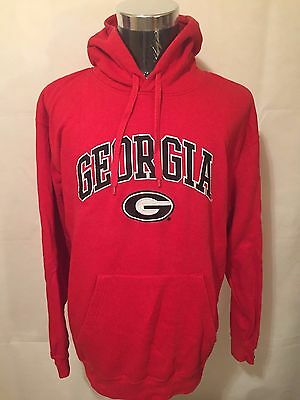 NCAA Georgia Bulldogs LGE** Stadium Athletic Arch & Logo Pullover Hoodie by GS