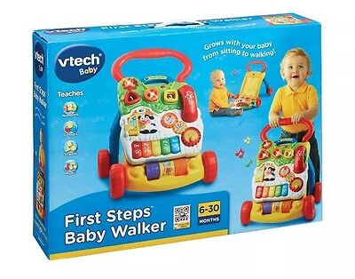 VTech First Steps Baby Walker Detachable Musical Learning Activity Play Centre