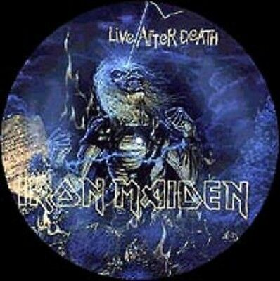 IRON MAIDEN - Live After Death - LP Vinyl PICTURE DISC - Germany 2001 - NEW.