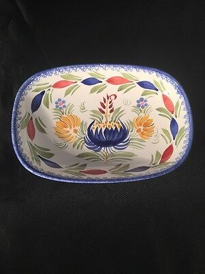 Henriot Quimper France Hand Painted Dish