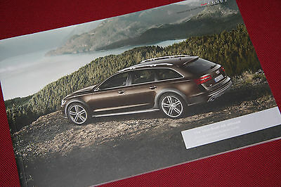 Audi A6 Allroad Pricing & Specification Brochure - Quattro - 2013 Model Year