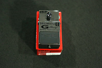 ISP Technologies Decimator II G String Noise Reduction Pedal MINT CONDITION