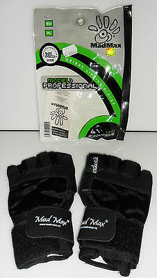 Guanti MadMax model Professional Line Exclusive Weight lifting gloves palestra