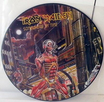 IRON MAIDEN - Somewhere In Time - LP Vinyl PICTURE DISC - Ltd.Edition - NEW.