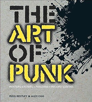 Art of Punk by Russ Bestley New Paperback Book