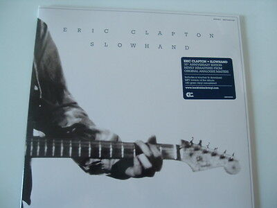 Eric Clapton - Slowhand, 35th Anniversary Edition, Remastered, 180 Gram Vinyl !!