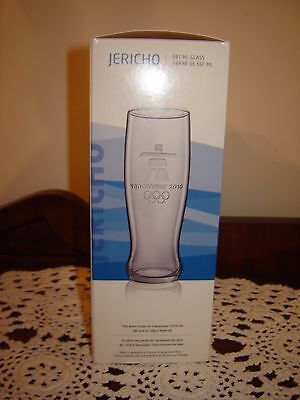 Petro-Canada Vancouver 2010 Olympics JERICHO 591 ml Pilsner Glass New In Box