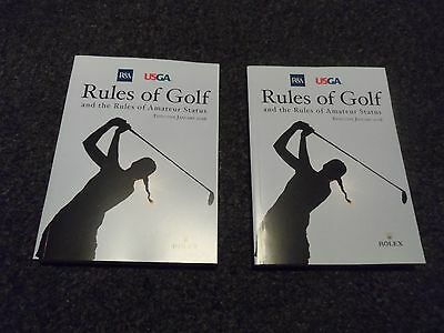 2 x 2016 Rules of Golf and the Rules of Amateur Status (One Book)
