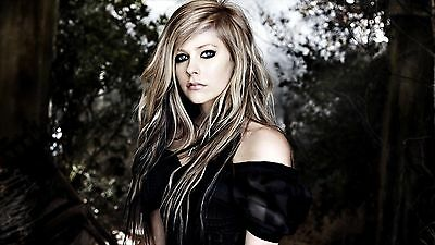 Avril Lavigne Singer Songwriter Poster A4 A3 A2 A1 Gift Present