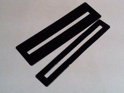 Guitar / bass fret protectors (set of 2 for low and high frets) - luthier tool