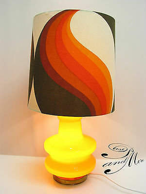 Tischlampe 70er leuchte mit space age panton style table for Lampen 70er style