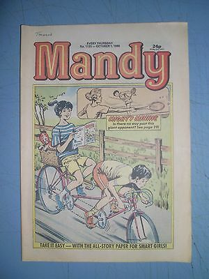 Mandy issue 1133 dated October 1 1988