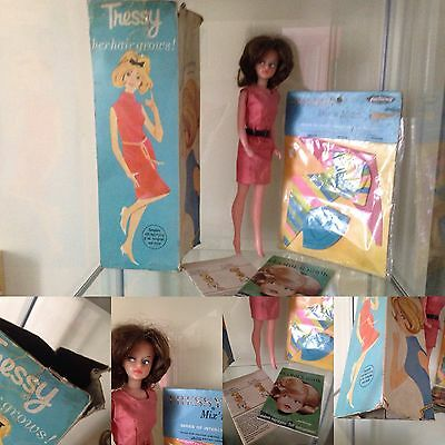 Palitoy Tressy Doll Boxed With Accessories 1960s