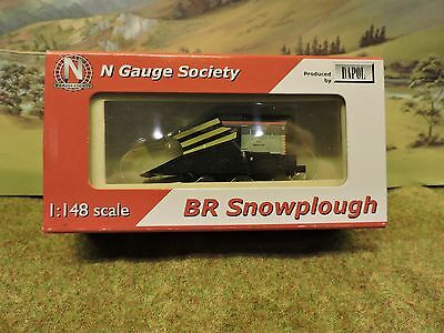 "Dapol N Gauge Society BR Snowplough NGK42-6 ""Snow King"""
