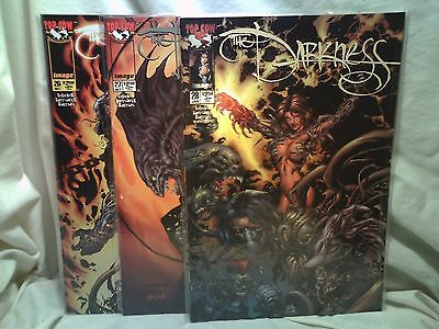The Darkness 1999 Top Cow Comics Issues 26 27 28