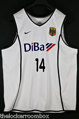 Authentic RARE Nike DriFit Nowitzki Gr XL Germany NBA Basketball Trikot Jersey