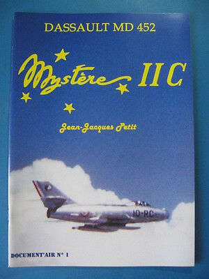 Aviation / Document'air / Dassault Md 452 / Mystere Iic *