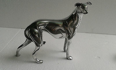 Metal Greyhound Dog Statue Figurine Sculpture f