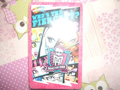 New in pack Top Trumps Monster High Who's the fiercest Card Game