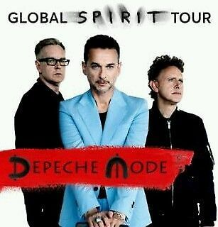 1x DEPECHE MODE TICKETS TOUR 2017 FOS FRONT OF STAGE HANNOVER KARTEN 11.06.17