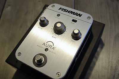 [Very Good Condition] FISHMAN Aura Sixteen Acoustic Guitar Pedal Preamp