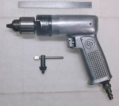 """Chicago Pneumatic 1/4"""" Drill 5300 RPM CP2480-0-53 with Jacobs 7BA Chuck"""