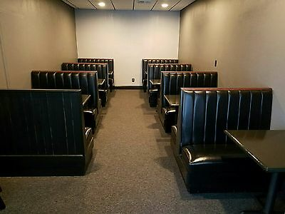 Lot of 16 Restaurant Booths