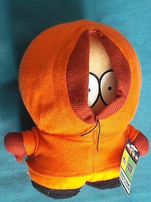 """South Park Kenny Plushy Official 2001 Comedy Central 6.5"""" With Tag"""