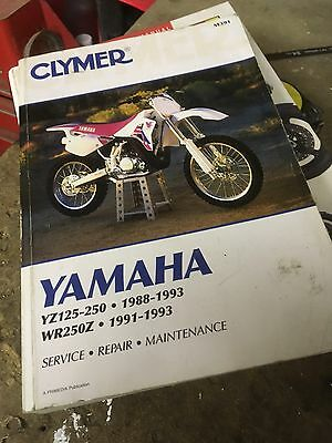 Yamaha Yz Manuals