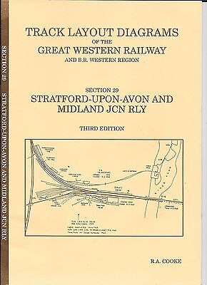 Track layout diagrams of GWR and BR WR 29 Stratford upon Avon & Midland Jcn Rly