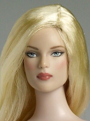 """Nu Mood Tyler Lily Blond Wig ONLY for 16"""" doll Tonner Cami Sydney No Box NO DOLL"""