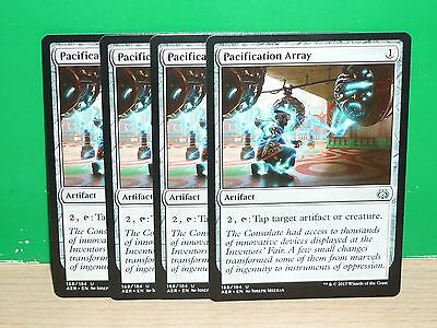 MTG Magic The Gathering Aether Revolt - Pacification Array x4