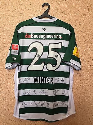 ST. GALLEN SWITZERLAND MATCH WORN ISSUE FOOTBALL SHIRT JERSEY Autographs #25