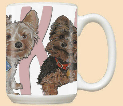 Yorkshire Terrier Yorkie Dog Ceramic Coffee Mug Tea Cup 15 oz