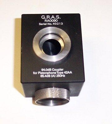 G.R.A.S. RA0090 PISTONPHONE MODEL 42AA 94.0 dB COUPLER