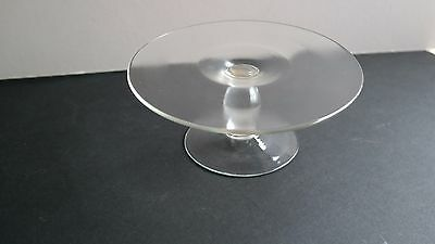 Old Glass tazza / stand