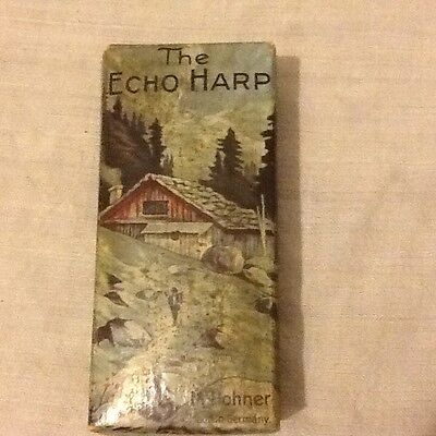 the echo harp 54/64 A /D harmonica M Hohner