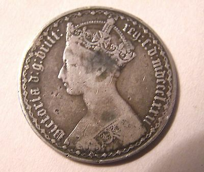 Queen Victoria  Great Britain  2 HEAD FLORIN Home Made Trick Coin