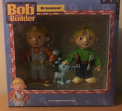 Bob The Builder Ornaments New In Box