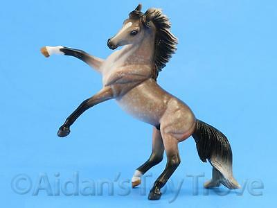 Breyer Model Horse Toy  - Stablemate 5906 G3 Rearing Andalusian - Rose Grey