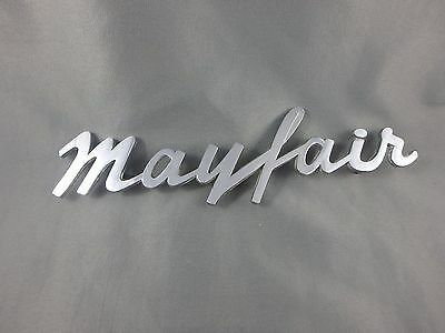 1950's Dodge Plymouth Mayfair Metal Emblem - 8 Inch