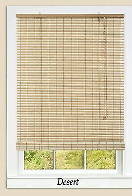 """30"""" x 72"""" Beautiful Desert Two Tone Indoor or Outdoor Ashland Roll-up Blinds"""