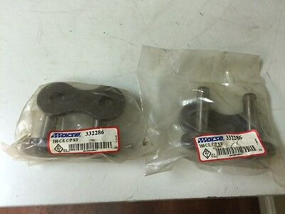 New,  Morse  332286  160 Connecting Link  C/l C/p S/f  ( Qty. Of 2 )