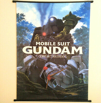 "Mobile Suit Gundam ""The 08th MS Team"" Anime Manga Japanese Poster Wall Scroll"