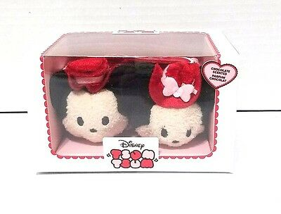 Disney Mickey and Minnie Mouse ''Tsum Tsum'' Plush Valentine's Day 2017