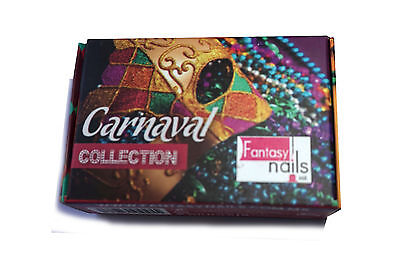 Fantasy Nails Sinaloa - Carnaval  Acrylic Powder - set of 6  new collection!