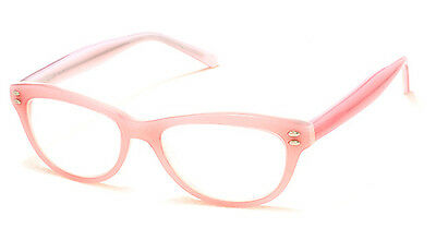 Aj Morgan Optical Quality Light Pink Womens Readers Reading Glasses +2.50 +3.00