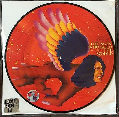"""David Bowie """"The Man Who Sold The World' Picture Disc RSD New Record Store Day"""
