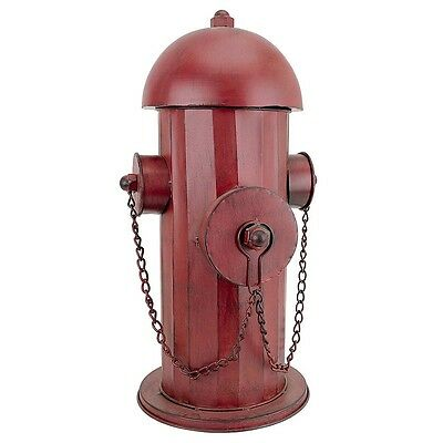 Vintage Metal Fire Hydrant Statue Garden Sculpture Decorative Yard Home Garden
